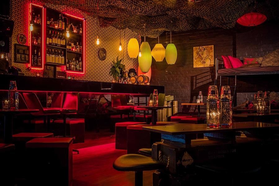 melbourne berlin bar interior dark red lounge
