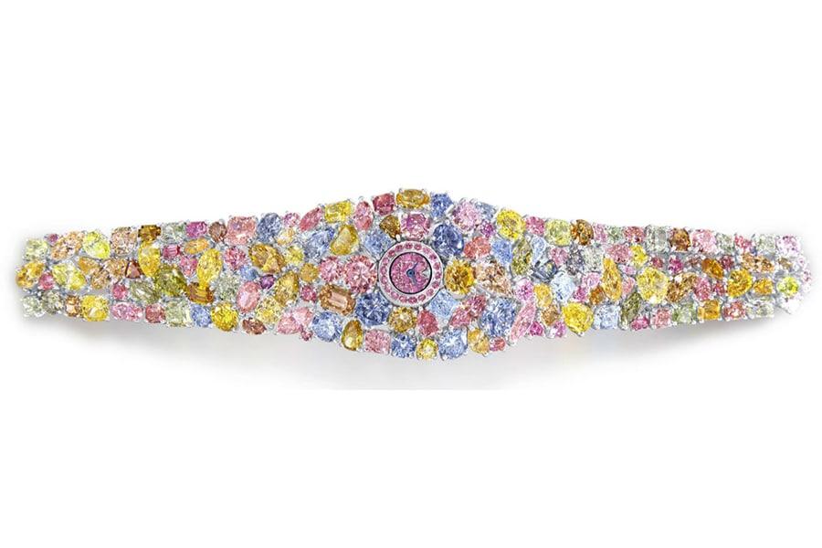 graff diamonds hallucination platinum bracelet