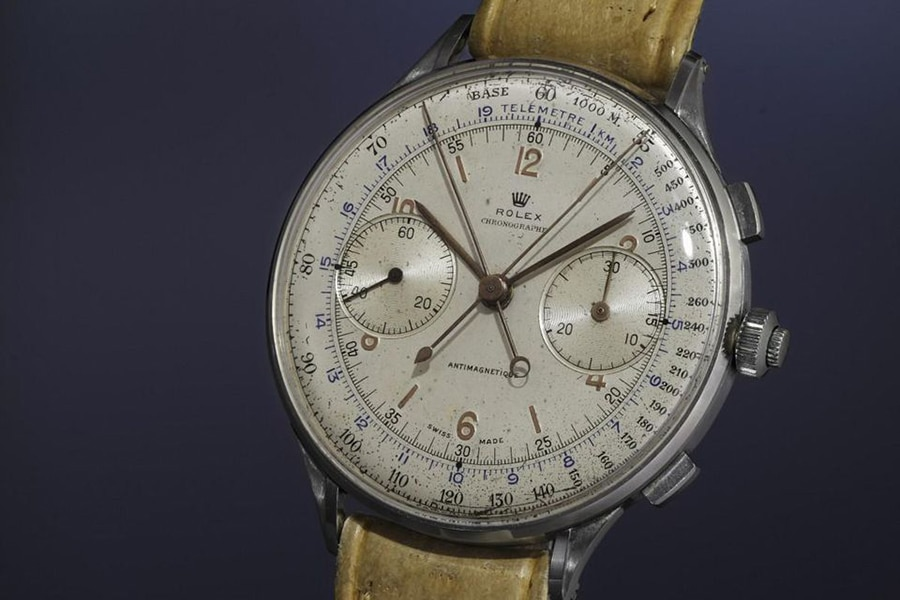 rolex antimagnetique stainless steel 1942