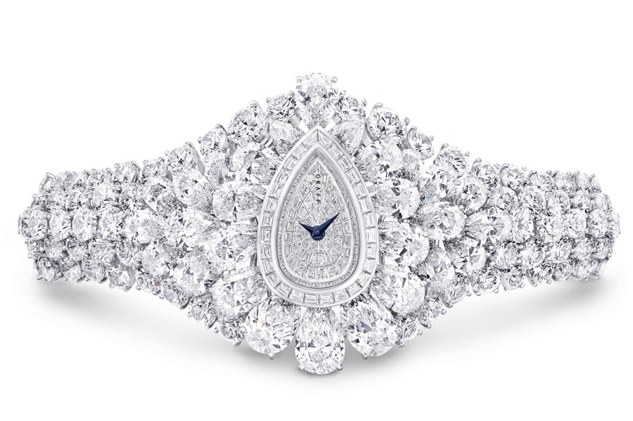 graff diamonds the fascination pear-shaped
