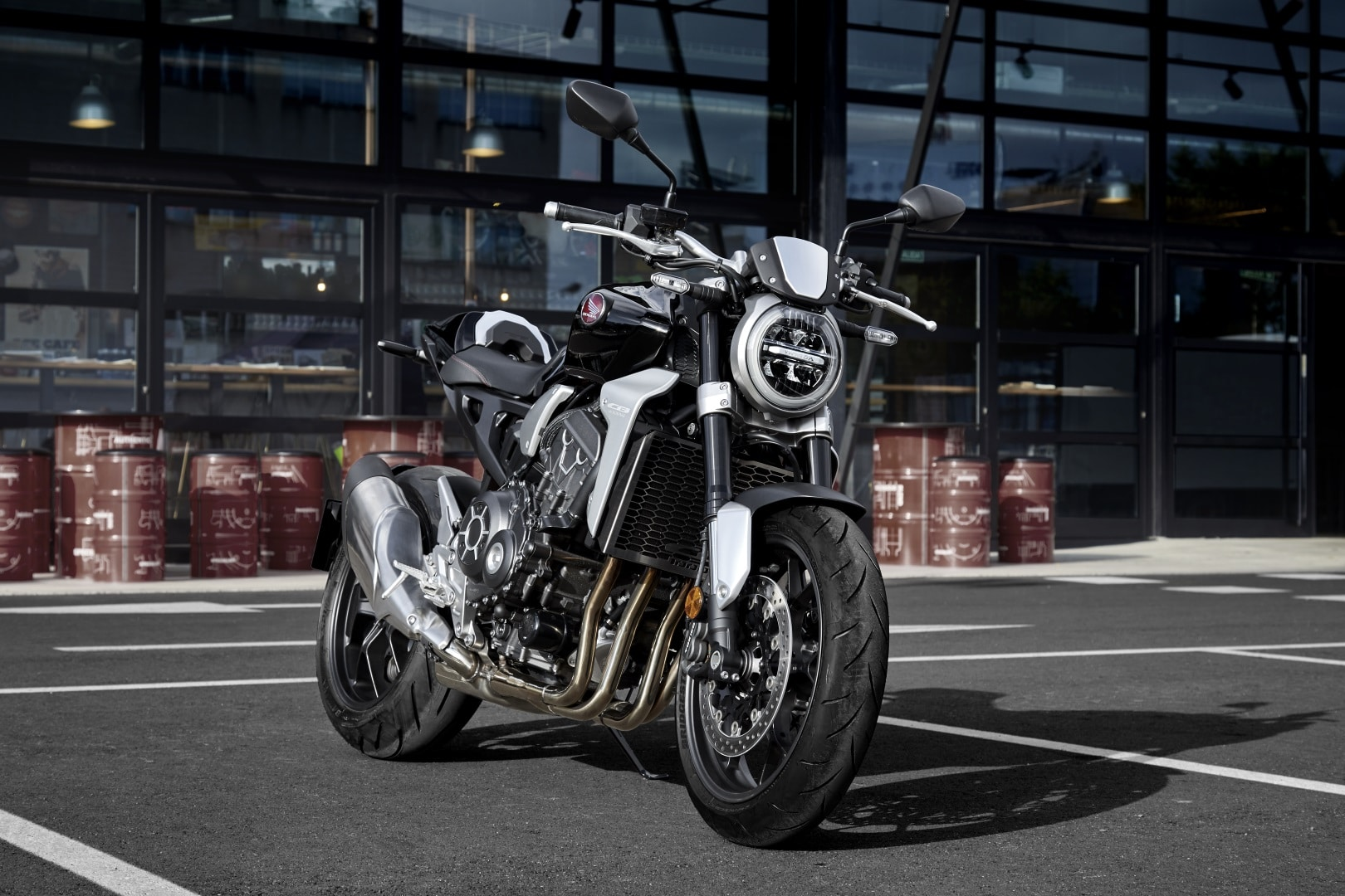 honda cb1000r neo sports cafe motorcycle front design