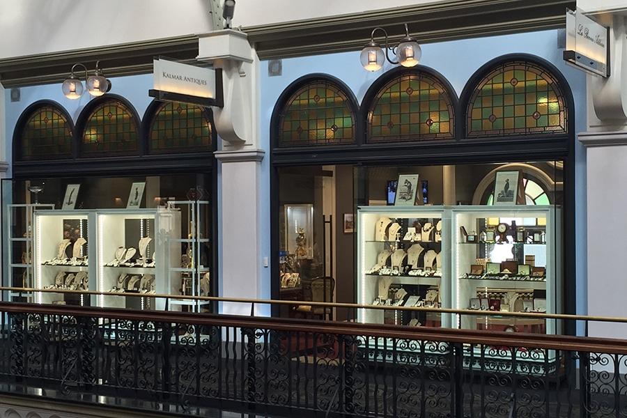 kalmar antiques storefront