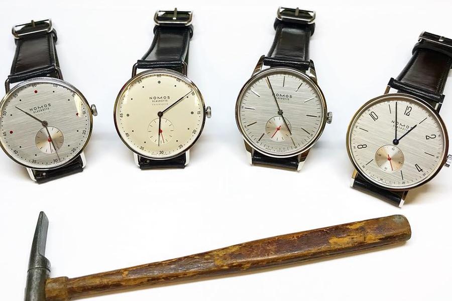 nomos glashute master watchmaking