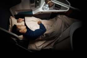 cathay pacific a330 business class review