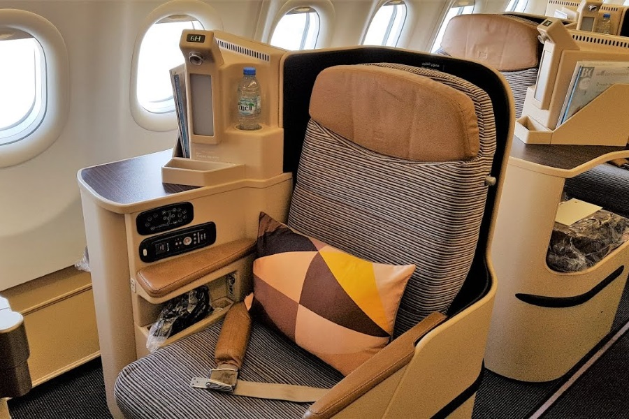Etihad A380 Business Class Review Man Of Many