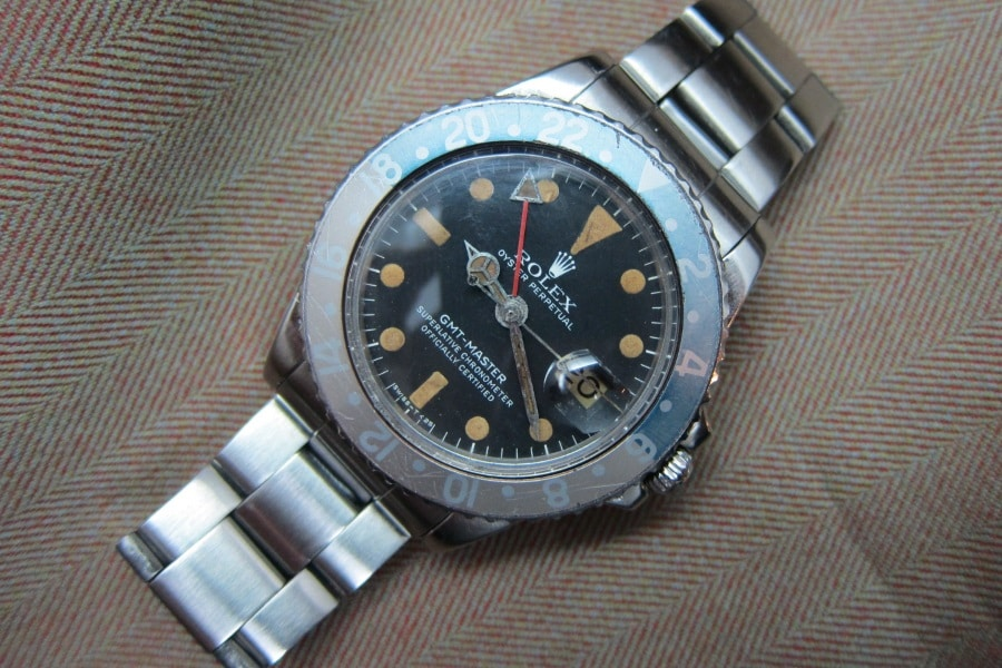 rolex oyster perpetual gtm master watch