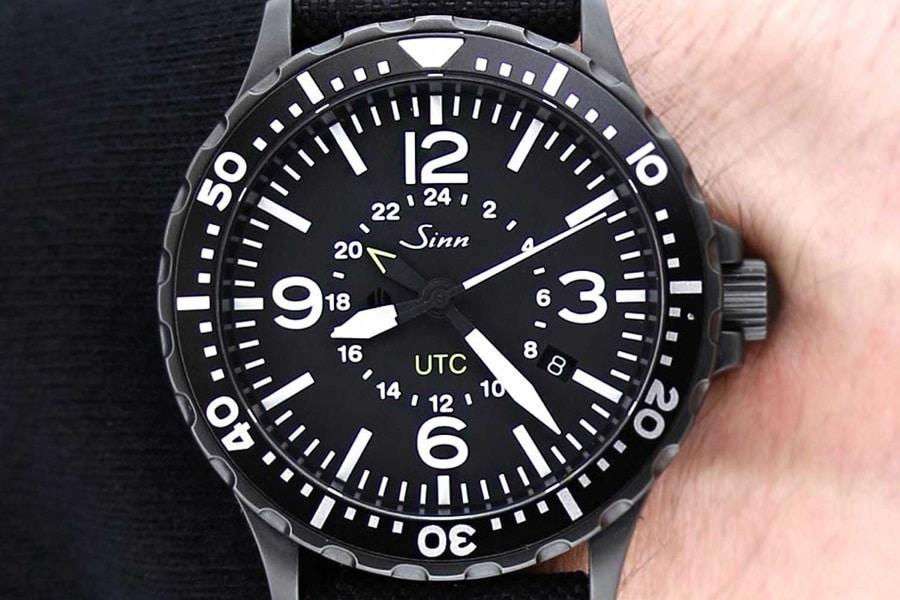 greenwich mean time black watch