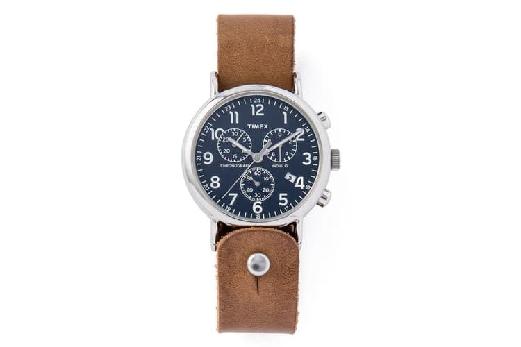 huckberry horween leather chronograph