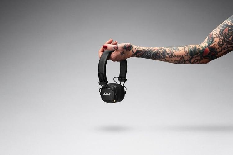 major iii bluetooth headphones new Hand reached