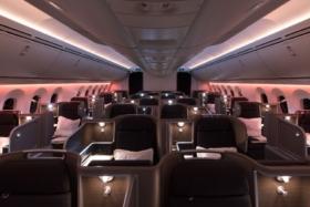 qantas 787 dreamliner business class review