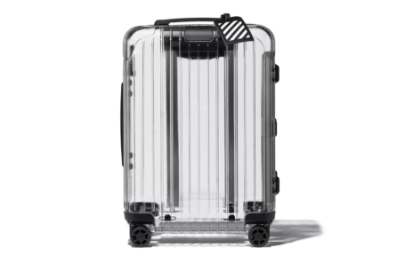 RIMOWA and Off-White carry-on rear