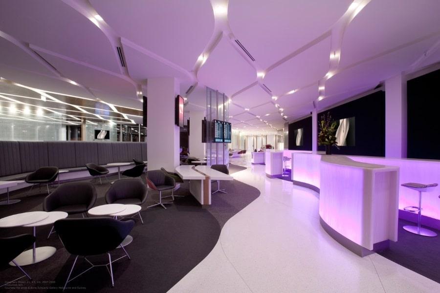 virgin australia business class lounge