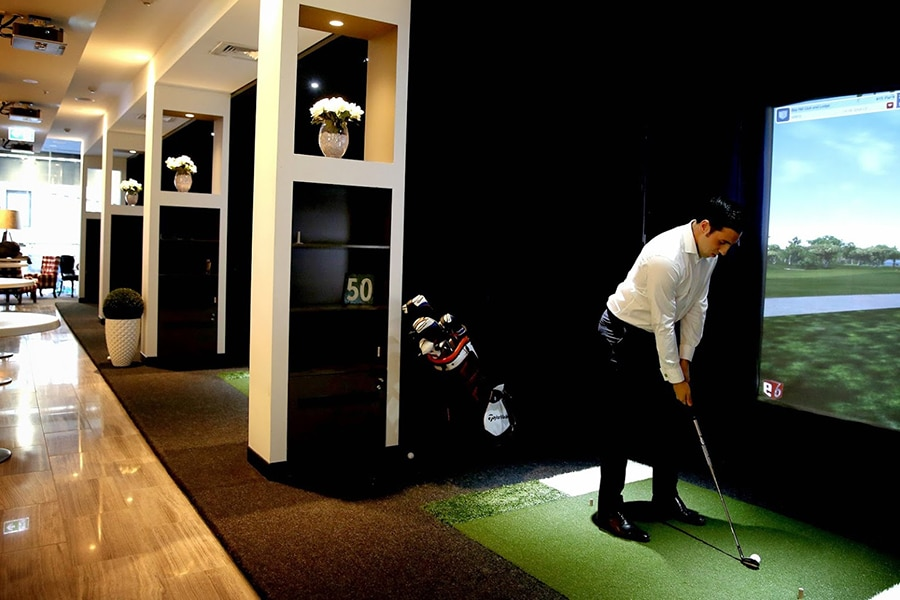 golf in the city is a very desirable concept