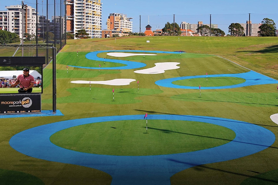moore golf park and driving range