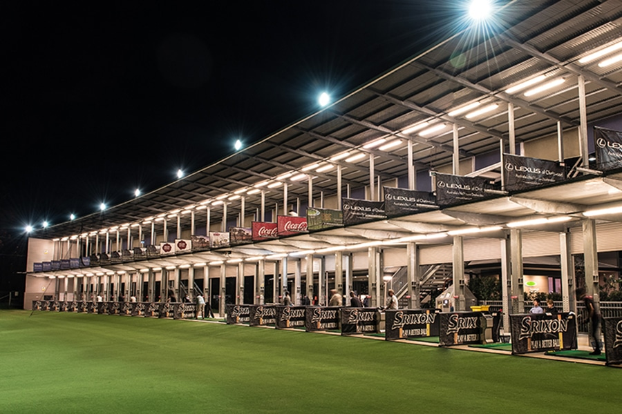 two levelled driving range thornleigh golf centre