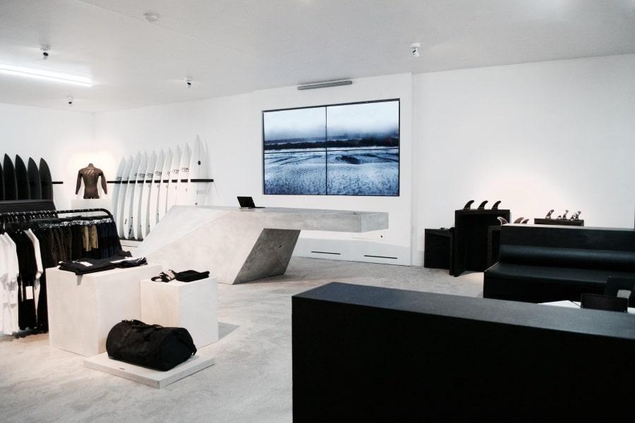 Hayden Shapes Surfboard Shop in Sydney