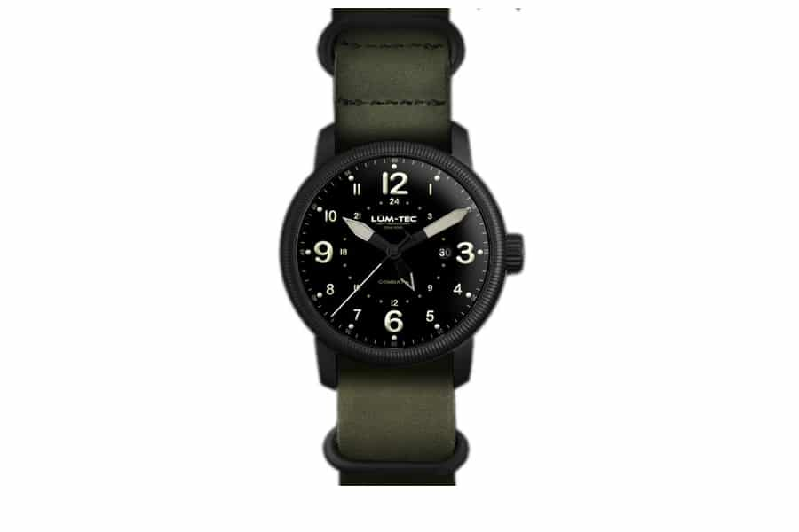 LUM-TEC COMBAT B38 GMT MENS WATCH