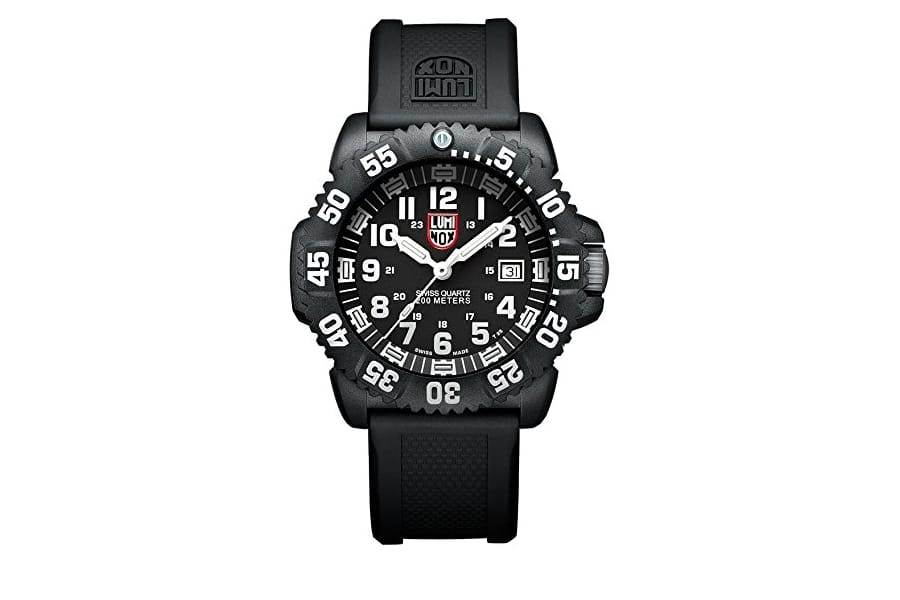 luminox men 3051 evo navy seal colormark watch