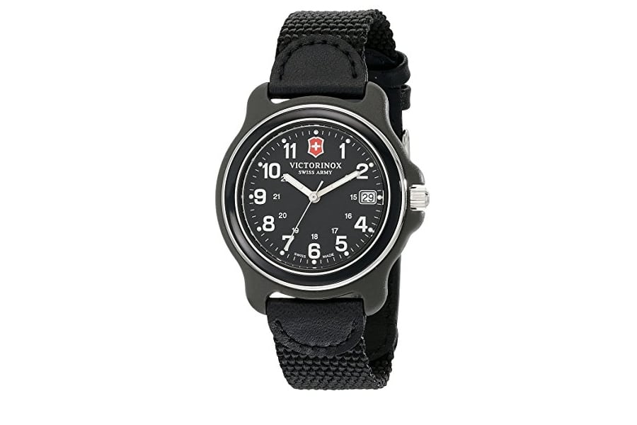 Victorinox Swiss Quartz Black Watch