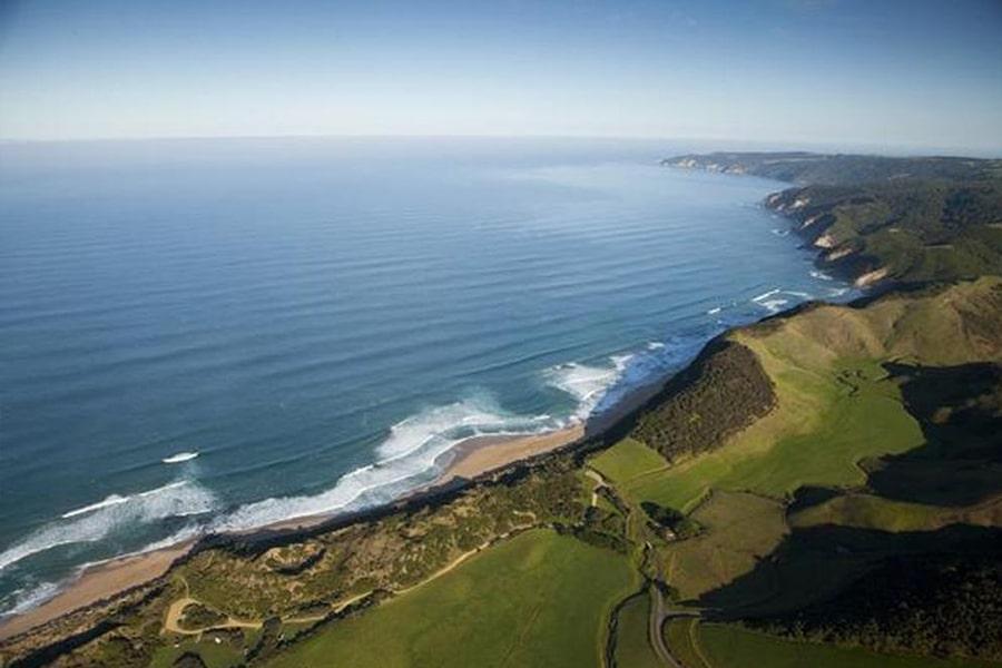 johanna beach aerial view