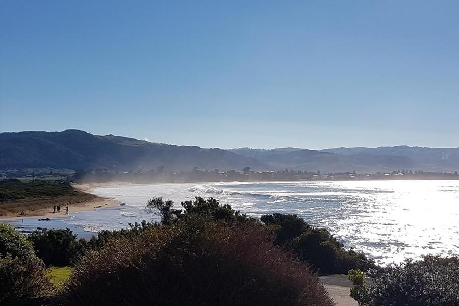 marengo national park overlooking beach