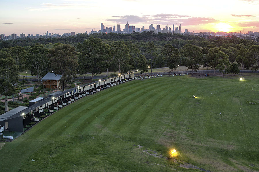 yarra bend golf playground