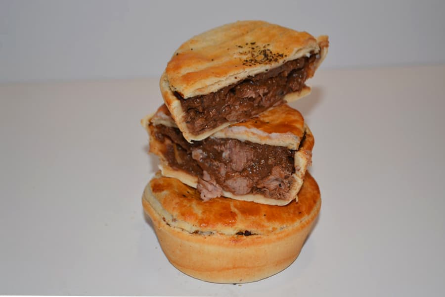keith's pies meat pie stack