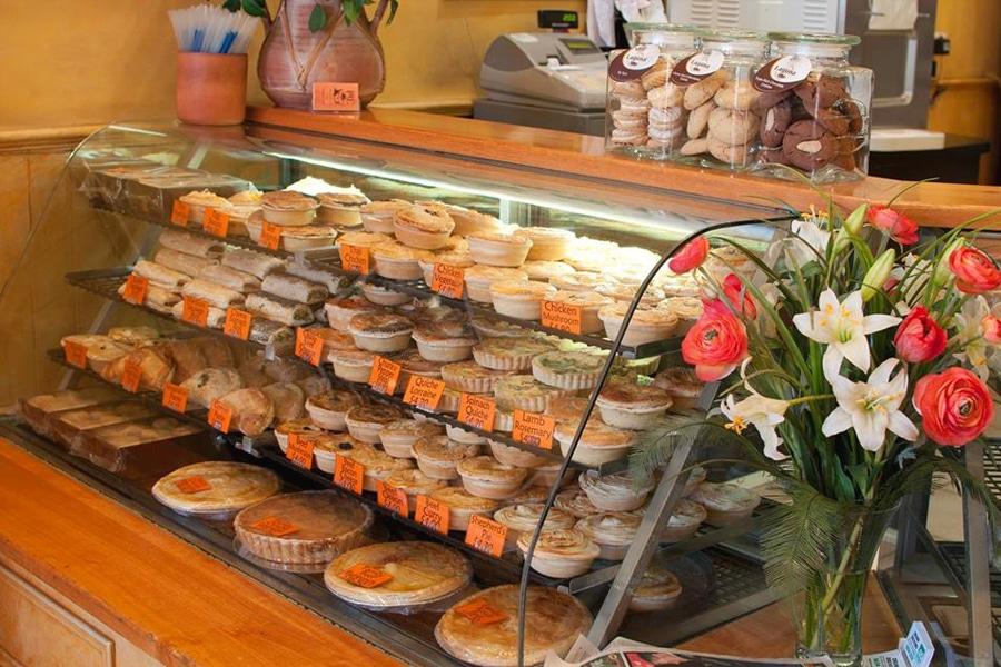 richmond pie shop counter