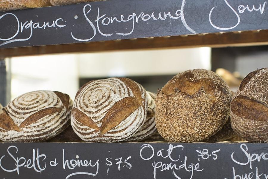 tivoli bread on rack