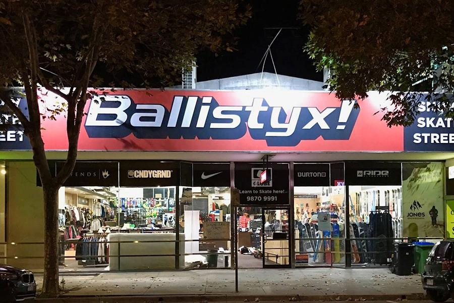 ballistyx board store
