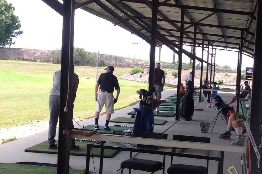all facility in barton park golf driving range