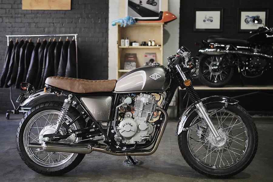 sol invictus - customs motorcycle shop