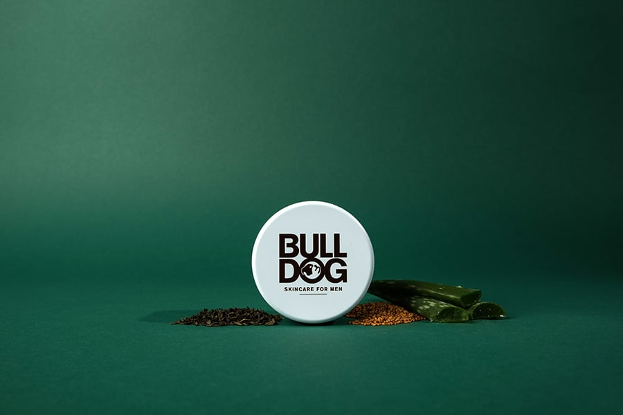 bulldog and skincare for men