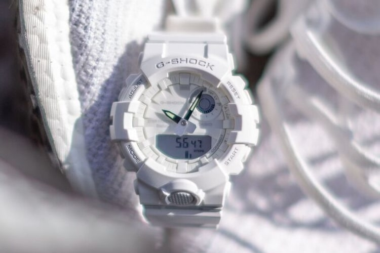 Casio G-Shock GBA800 Watch White
