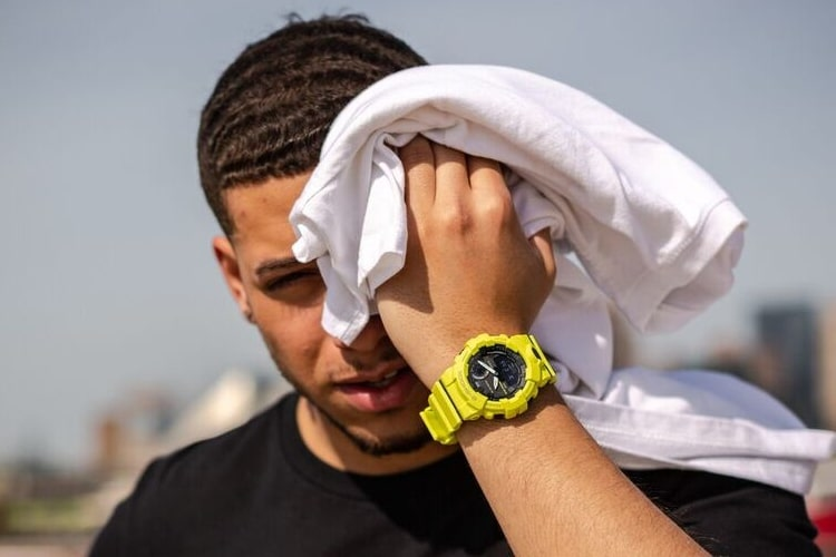 Casio G-Shock GBA800 Watch Towel