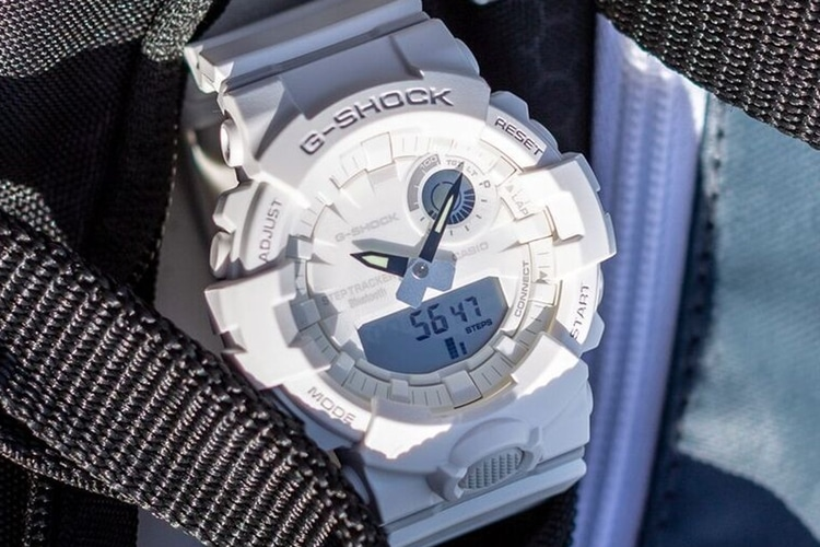 Casio G-Shock GBA800 White
