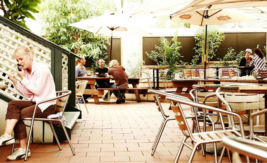 Beer Garden at the Courthouse