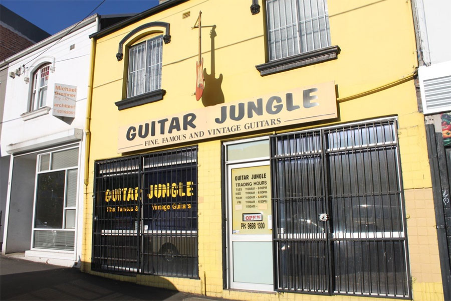 guitar jungle