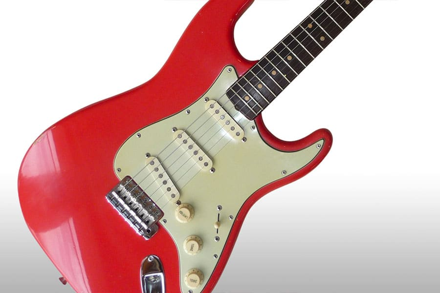 vintage guitars australia red