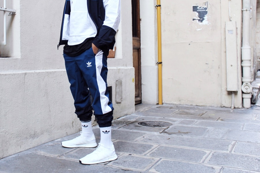 mens beanie winter fashion pants and trackies