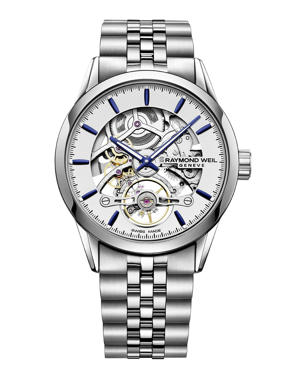 raymond weil gemeve still watch front