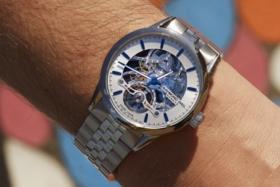 raymond weil still watch on wrist