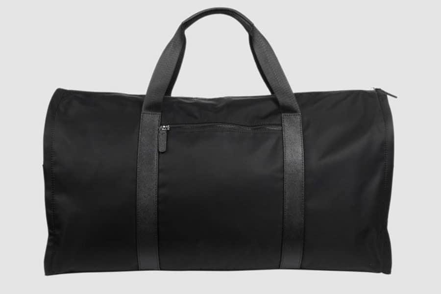 tde black nylon suit bag back