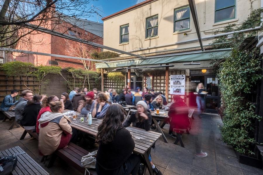 The Standard Hotel Beer Garden