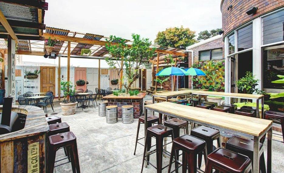 the henson beer garden