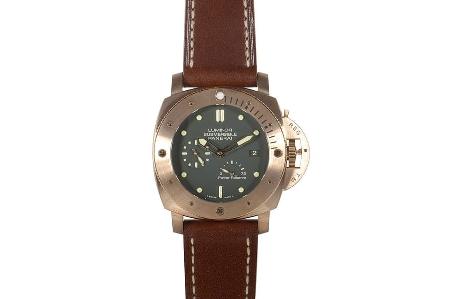 panerai luminor power reserve bronzo