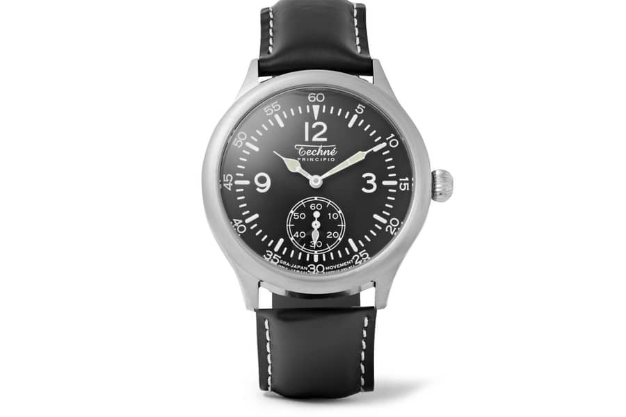 techne watches merlin 246 stainless steel