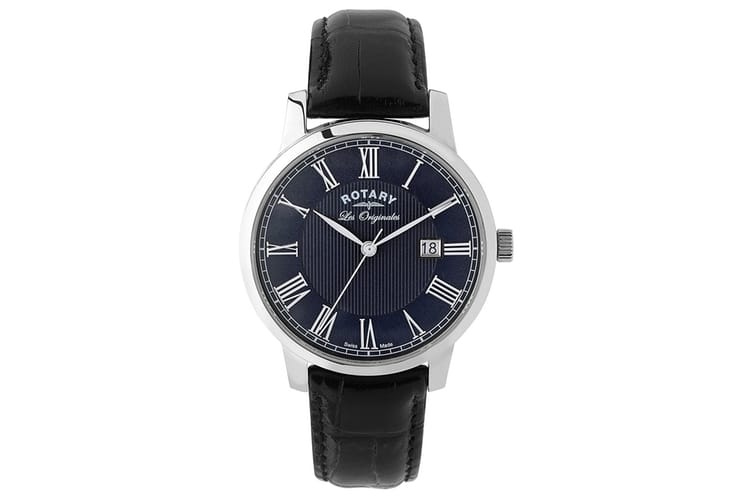 rotary men les originales black leather
