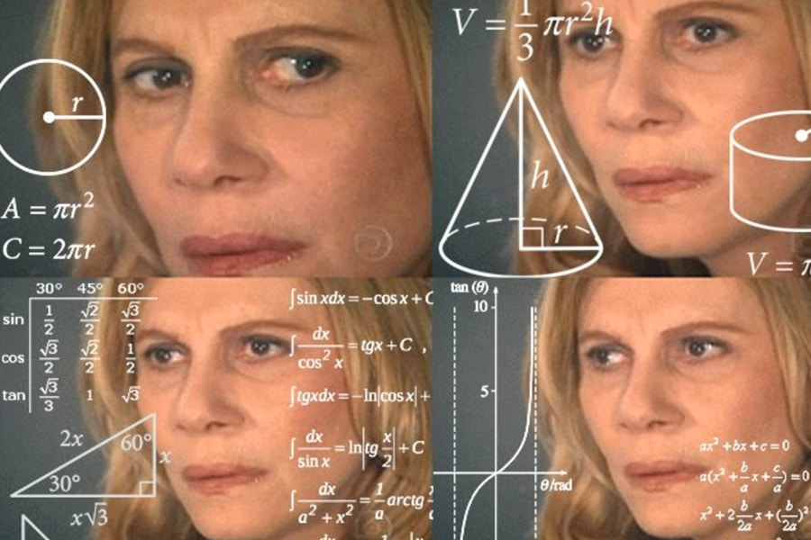 confusing math meme