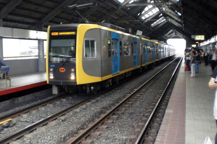 manila metro train subway